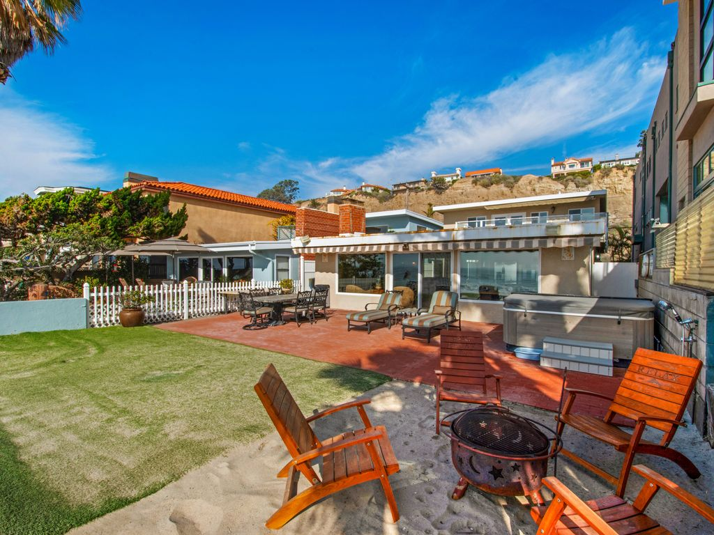 Enjoy an Ocean View Beach Fire - 35119 Beach Road, Dana Point, CA | Beach Road Realty
