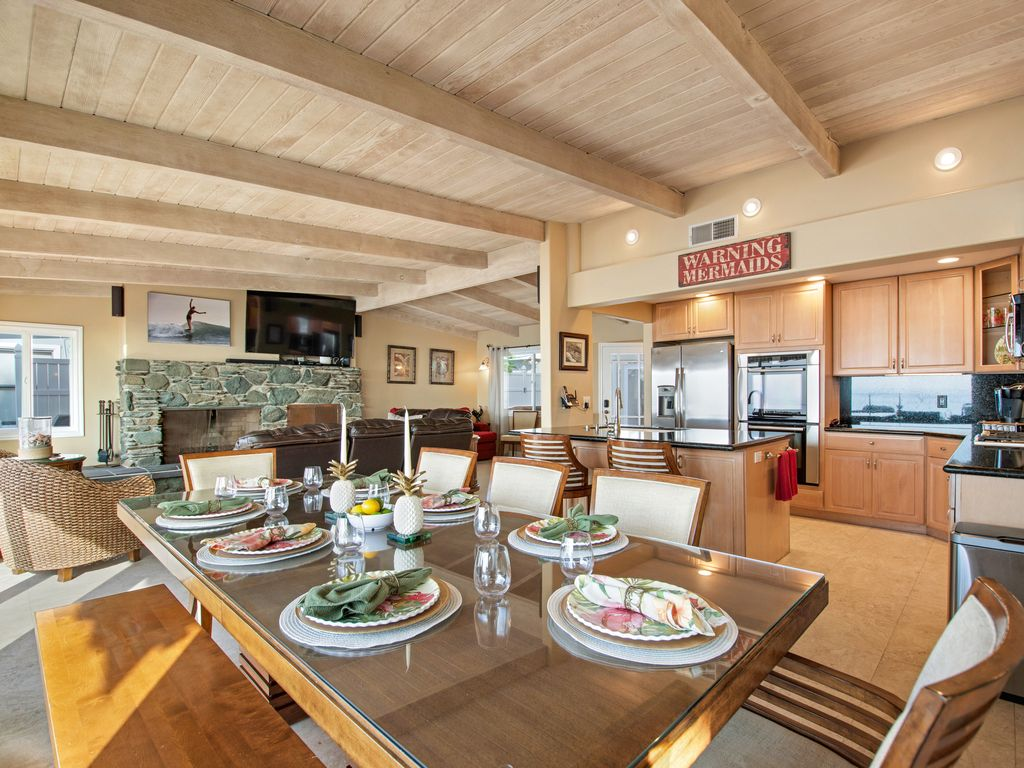 Lower Level Ocean View Kitchen - 35119 Beach Road, Dana Point, CA | Beach Road Realty