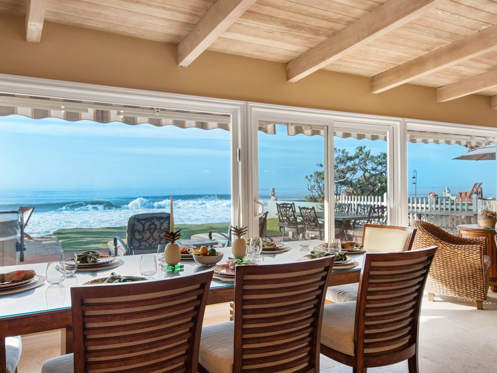 Lower Level Ocean View Dining Area - 35119 Beach Road, Dana Point, CA | Beach Road Realty
