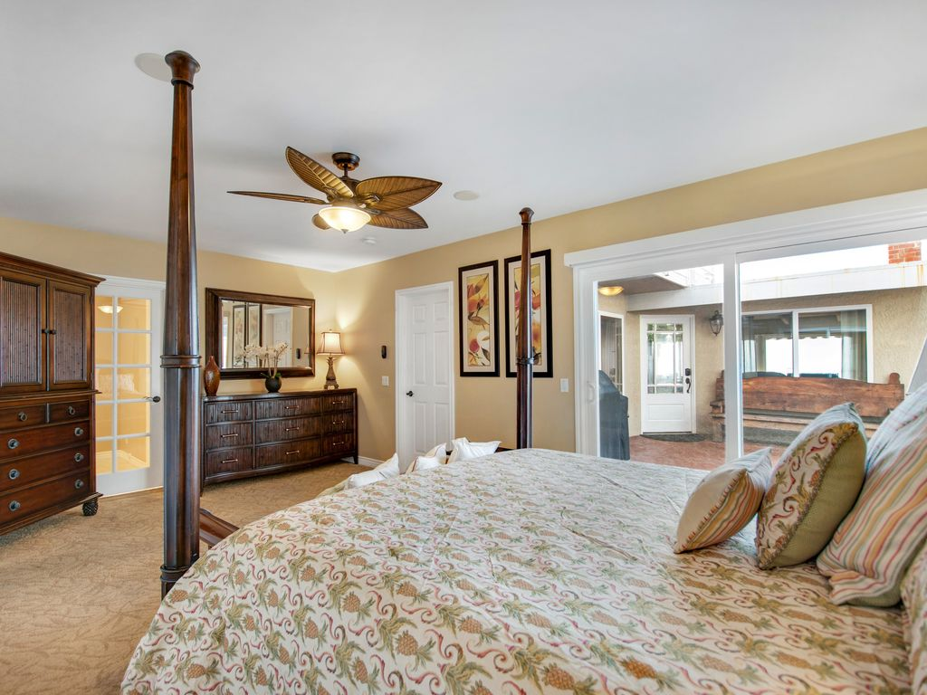 Lower Level Ocean View Primary Bedroom - 35119 Beach Road, Dana Point, CA | Beach Road Realty