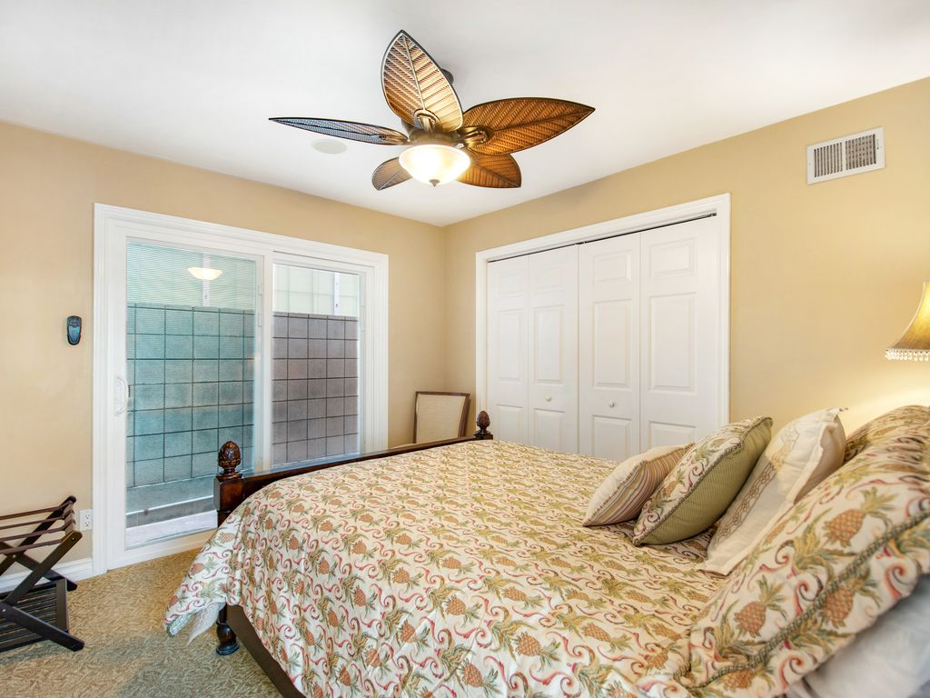 Lower Level Queen Bedroom - 35119 Beach Road, Dana Point, CA | Beach Road Realty