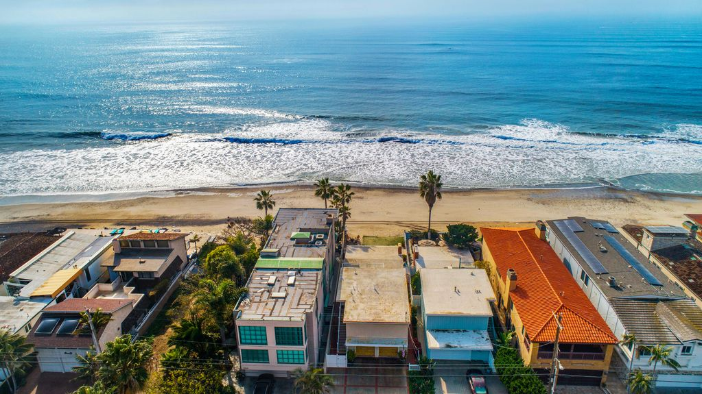 Ocean-Out Aerial View - Beach Vacation Homes in Capistrano Beach - Dana Point | Beach Road Realty