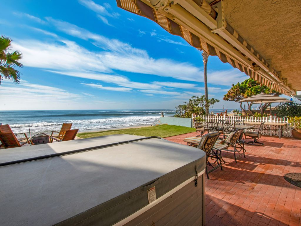 Relax in the Beach Patio Hot Tub - 35119 Beach Road, Dana Point, CA | Beach Road Realty