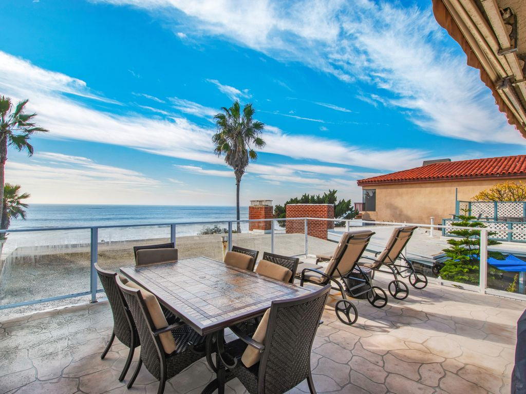 Upper Level Ocean View Sundeck - 35119 Beach Road, Dana Point, CA | Beach Road Realty