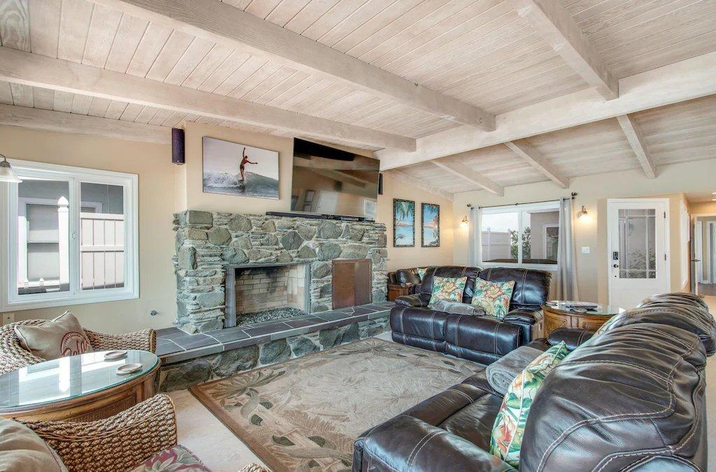 Lower Level Ocean View Living Area - #STR21-1230 - 35119 Beach Road, Dana Point, CA | Beach Road Realty