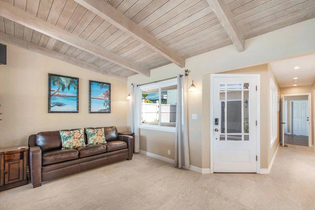 STR #21-1230 Lower Level Queen Sleeper Sofa - 35119 Beach Road, Dana Point, CA | Beach Road Realty