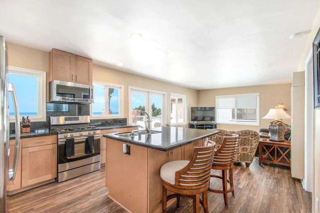 STR #21-1230 Upper Level Ocean View Kitchen - 35119 Beach Road, Dana Point, CA | Beach Road Realty